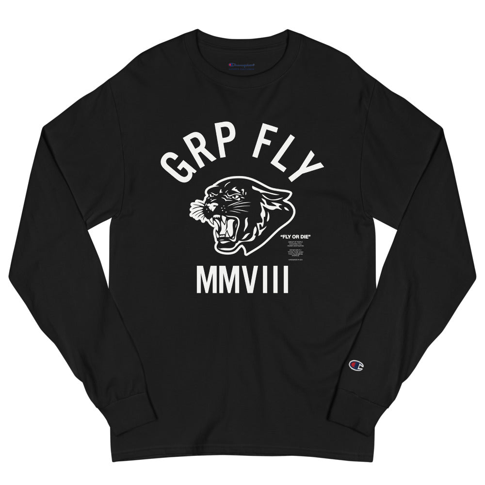 Big Cat Long Sleeve - Black