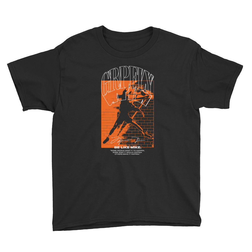 Youth Like Mike Tee - Black