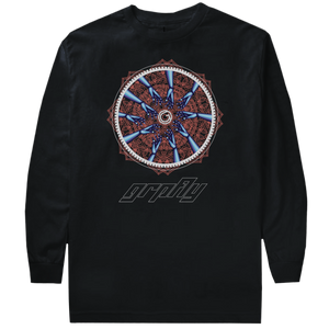 Reach Long Sleeve Tee - Black