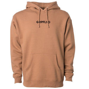GRPFLY Hoodie - Saddle (low quantity)
