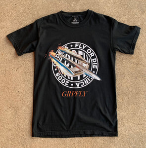 Youth Space Jet Tee - Black