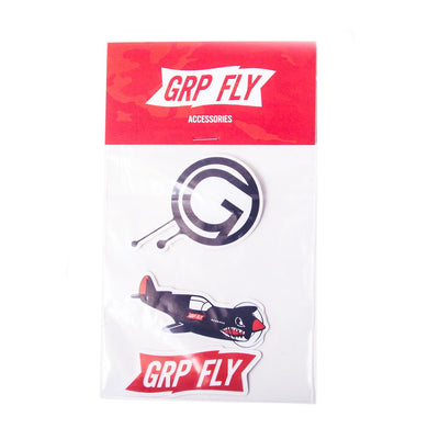 GRP FLY Sticker Pack