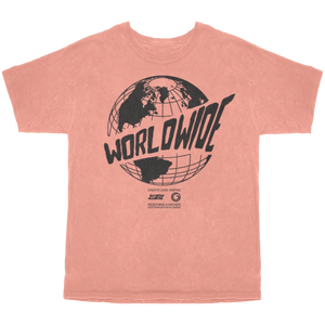 Worldwide Tee - Tangerine