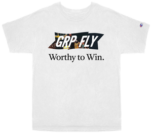 Worthy Champion Tee - White