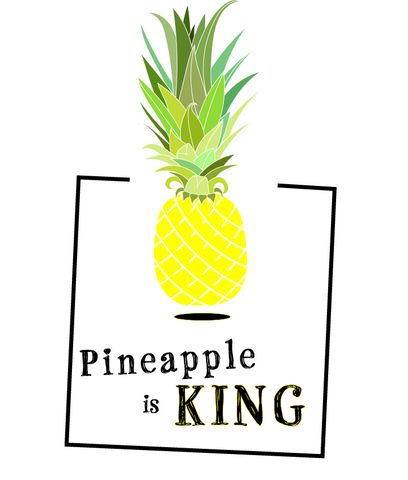 PINEAPPLE is KING - PINEAPPLE CHIPS