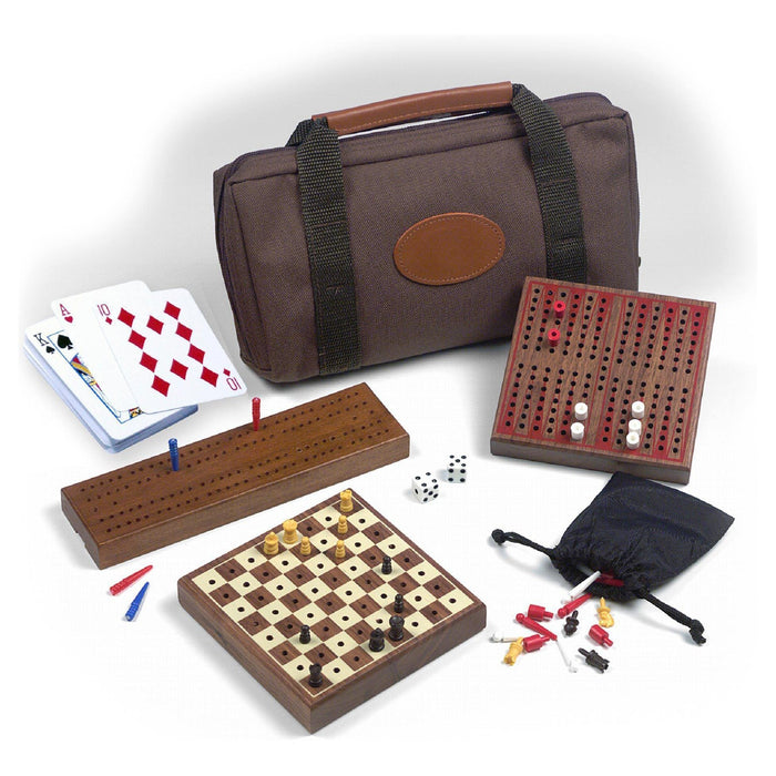 Carrom Travel Multi Game Set