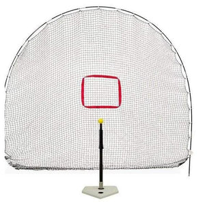 Heater Hitting Station 3-in-1 Spring Away Tee & Sports Net-epicrecrooms.com