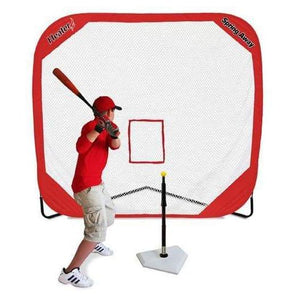 Heater Spring Away Tee & Spring Away 7' x 7' Pop-Up Net-epicrecrooms.com