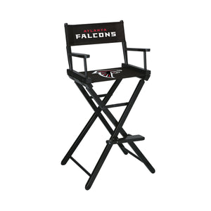 Imperial Atlanta Falcons Bar Height Director Chair-epicrecrooms.com