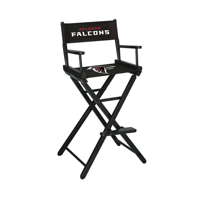 Imperial Atlanta Falcons Bar Height Director Chair