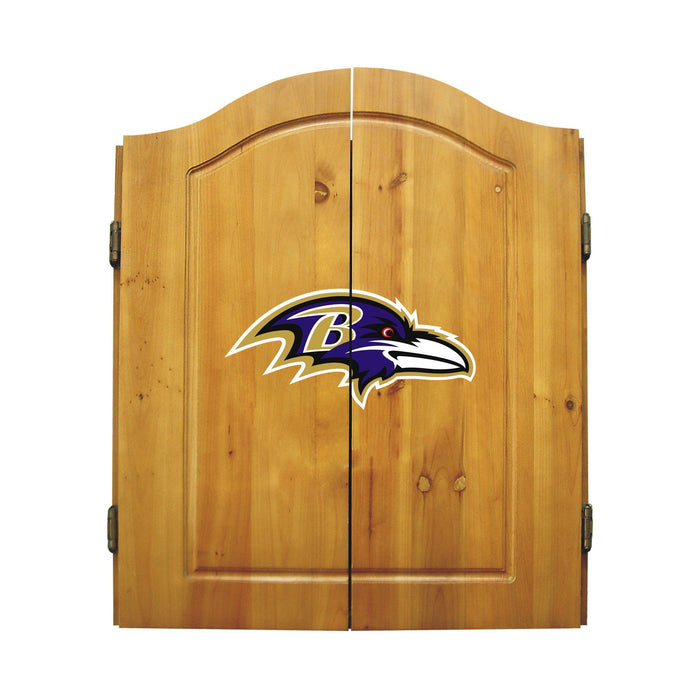 Imperial Baltimore Ravens Dart Cabinet