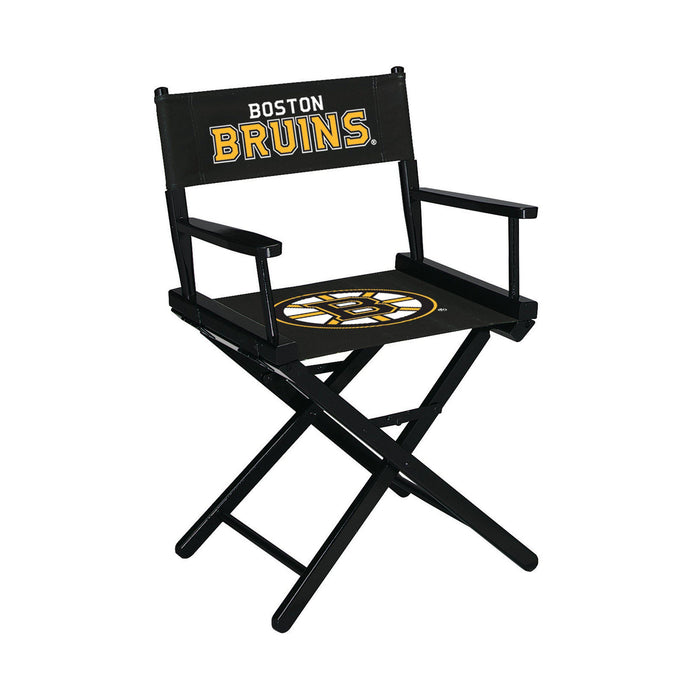 Imperial Boston Bruins Table Height Director Chair