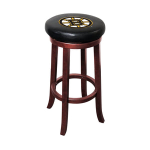 Imperial Boston Bruins Wooden Bar Stool-epicrecrooms.com