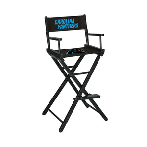 Imperial Carolina Panthers Bar Height Director Chair-epicrecrooms.com