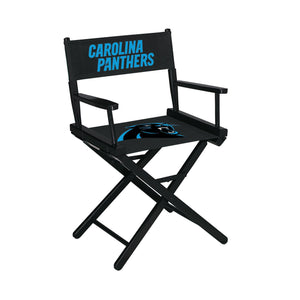 Imperial Carolina Panthers Table Height Director Chair-epicrecrooms.com