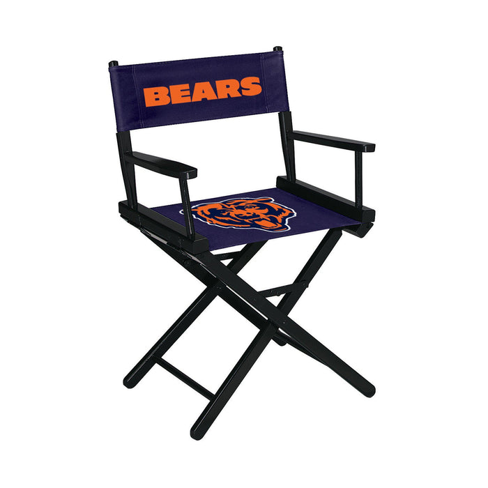 Imperial Chicago Bears Table Height Director Chairs