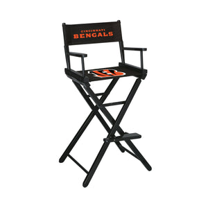 Imperial Cincinnati Bengals Bar Height Director Chair-epicrecrooms.com