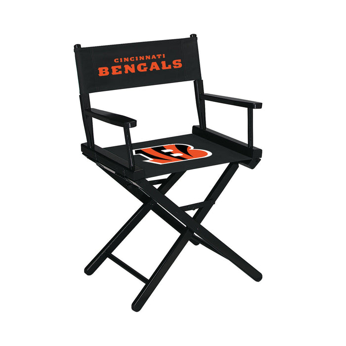 Imperial Cincinnati Bengals Table Height Director Chair