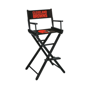Imperial Cleveland Browns Bar Height Director Chair-epicrecrooms.com