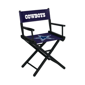 Imperial Dallas Cowboys Table Height Director Chair-epicrecrooms.com