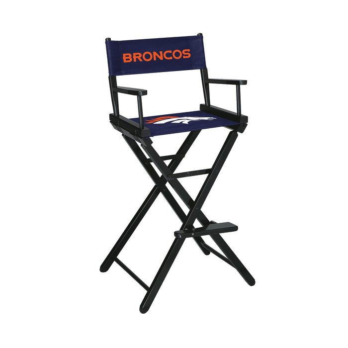 Imperial Denver Broncos Bar Height Director Chair
