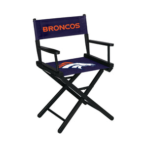 Imperial Denver Broncos Table Height Director Chair-epicrecrooms.com