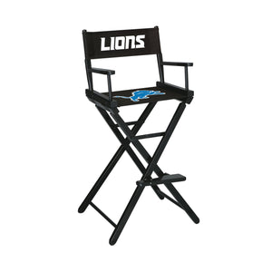 Imperial Detroit Lions Bar Height Director Chair-epicrecrooms.com