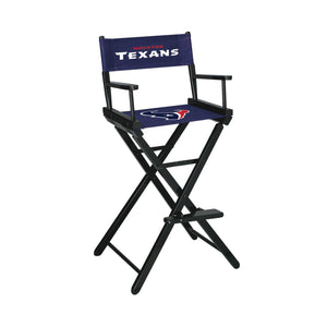 Imperial Houston Texans Bar Height Director Chair-epicrecrooms.com