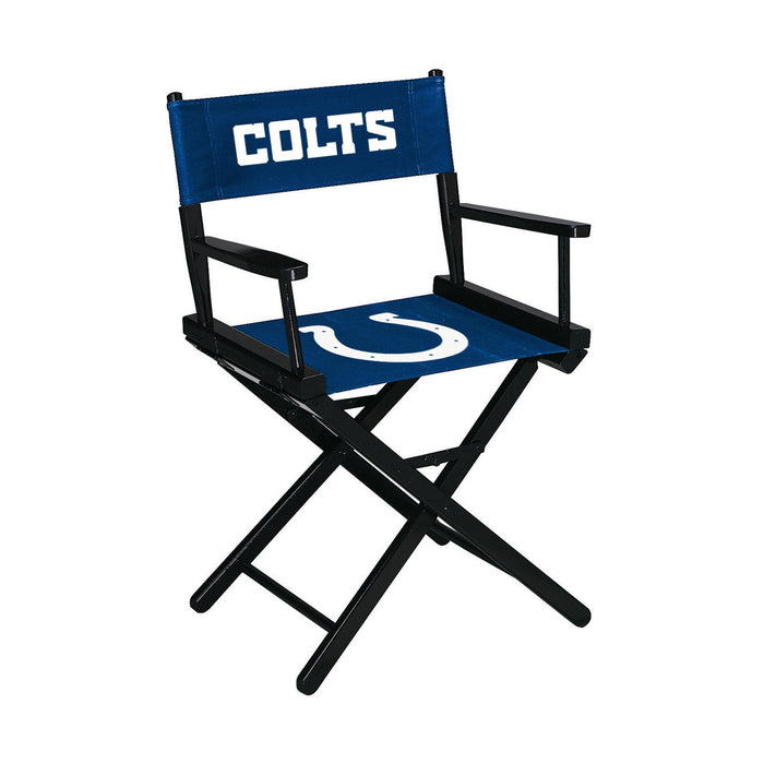 Imperial Indianapolis Colts Table Height Director Chair