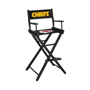 Imperial Kansas City Chiefs Bar Height Director Chair-epicrecrooms.com