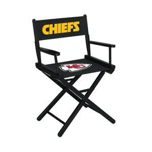 Imperial Kansas City Chiefs Table Height Director Chair-epicrecrooms.com