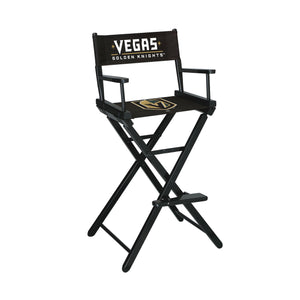Imperial Las Vegas Golden Knights Bar Height Director Chair-epicrecrooms.com