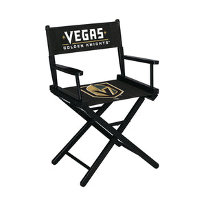 Imperial Las Vegas Golden Knights Table Height Director Chair-epicrecrooms.com