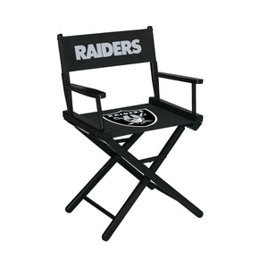 Imperial Las Vegas Raiders Table Height Director Chair-epicrecrooms.com
