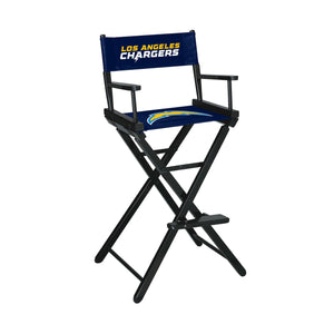 Imperial Los Angeles Chargers Bar Height Director Chair-epicrecrooms.com