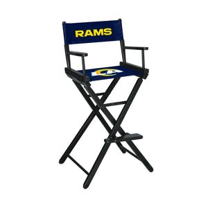 Imperial Los Angeles Rams Bar Height Director Chair-epicrecrooms.com