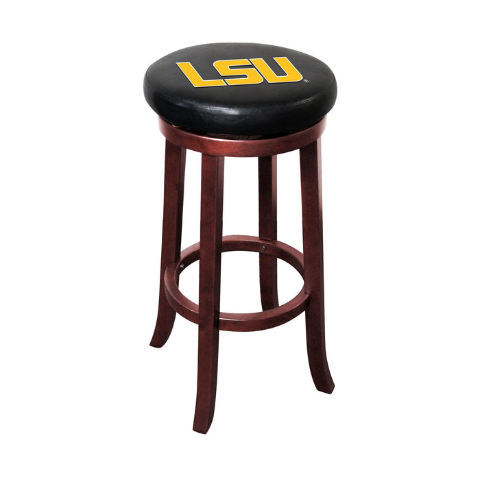 Imperial LSU Wooden Bar Stool