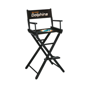 Imperial Miami Dolphins Bar Height Director Chair-epicrecrooms.com