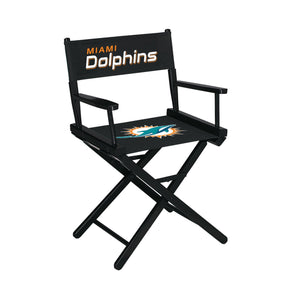 Imperial Miami Dolphins Table Height Director Chair-epicrecrooms.com