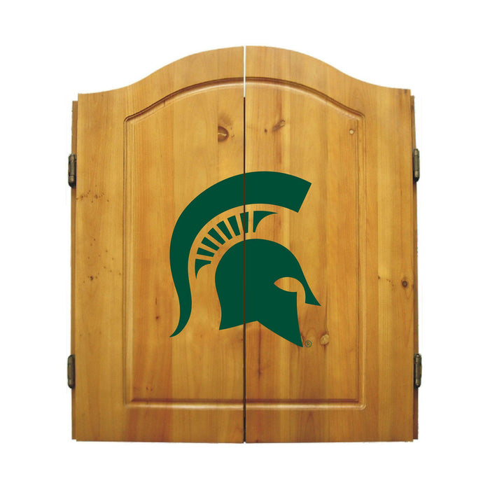 Imperial Michigan State Dart Cabinet