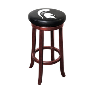 Imperial Michigan State Wooden Bar Stools-epicrecrooms.com