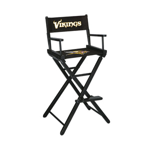 Imperial Minnesota Vikings Bar Height Director Chair-epicrecrooms.com