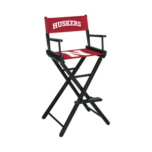Imperial Nebraska Bar Height Director Chair-epicrecrooms.com