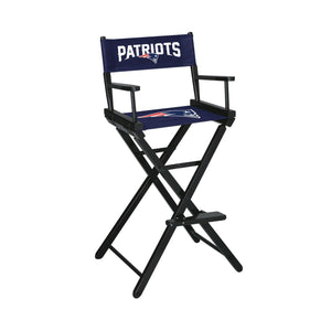 Imperial New England Patriots Bar Height Director Chair-epicrecrooms.com
