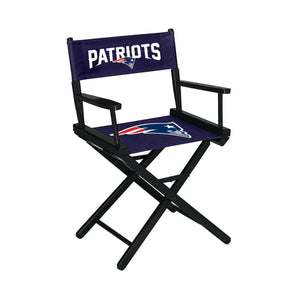 Imperial New England Patriots Table Height Director Chair-epicrecrooms.com