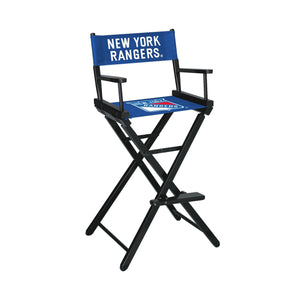 Imperial New York Rangers Bar Height Director Chair-epicrecrooms.com