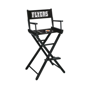 Imperial Philadelphia Flyers Bar Height Director Chair-epicrecrooms.com