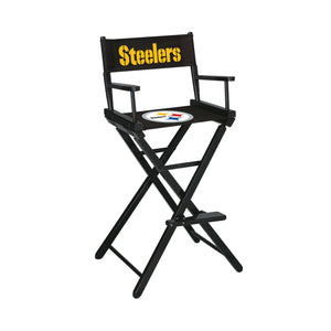Imperial Pittsburgh Steelers Bar Height Director Chair-epicrecrooms.com