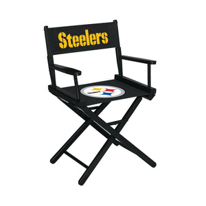 Imperial Pittsburgh Steelers Table Height Director Chair-epicrecrooms.com