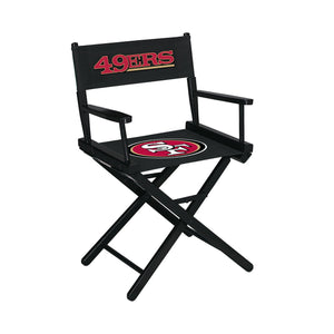 Imperial San Francisco 49ers Table Height Director Chair-epicrecrooms.com